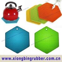 Buy cheap Silicone heat resistant pan mats from wholesalers