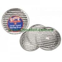 Buy cheap Large Round Foil Barbeque tray from wholesalers