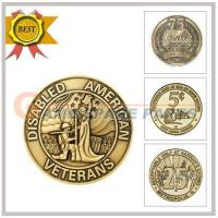 Wholesale yellow brass token28*1.85 from china suppliers