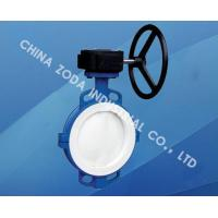 Wholesale Wafer Type PTFE Lined Butterfly Valve from china suppliers