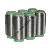 Wholesale WX-SPY100% Silver Fiber Yarn (Pure Silver Coated Polyamide Yarn) from china suppliers