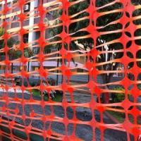 Buy cheap Orange Color Safety Mesh Fence from wholesalers