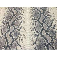 Buy cheap Exclusive Snake embossed Leather Fabric from wholesalers