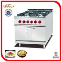 Buy cheap Stainless Steel Gas stove with electric oven from wholesalers