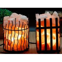 Wholesale Nature orange Himalaya Crystal Salt Rock Lamp BDSH from china suppliers