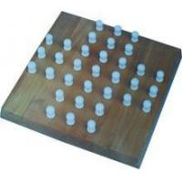 Wooden solitaire board game / chess game set / wooden chess pieces