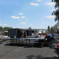 Buy cheap Container Houses Shipping Container Coffee Shop For Mobile Shop And Food Kiosk from wholesalers