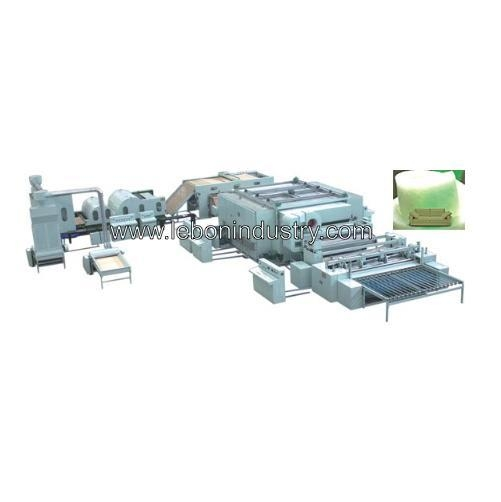Quality Polyester wadding machine line for sale