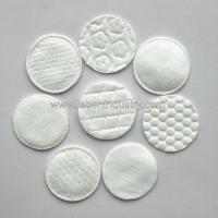 Buy cheap Cosmetic round cotton pads from wholesalers