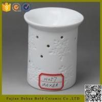 Buy cheap high temperature firing cheap tealight candle ceramic small oil burner from wholesalers