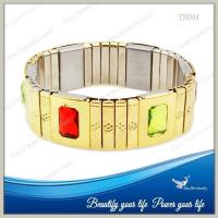 Buy cheap Fashion&Power Bracelet Dubai Gold Jewelry from wholesalers