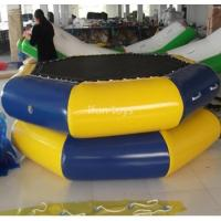 Buy cheap 0.9mm PVC Tarpaulin Inflatable Water Trampoline Combo For Water Sports Product ID:IF-WJWG007 from wholesalers