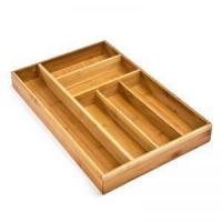 Buy cheap Large Bamboo Drawer Organizer Tray - 18x11.75x2 from wholesalers