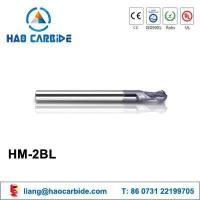 Buy cheap HM-2Bl 2 flute ball nose solid carbide end mills with straight shank and long shank from wholesalers
