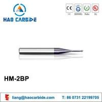 Buy cheap HM-2BP 2 flute ball nose straight shank solid carbide end mills from wholesalers