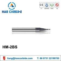Buy cheap HM-2BS tiny ball nose solid carbide end mills from wholesalers