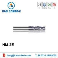Buy cheap HM-2E 2 flute flattened solid carbide end mills with straight shank from wholesalers