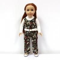 Buy cheap Light Skin Fashion 18 inch doll, hot pretty girl doll with doll clothes and shoes from wholesalers