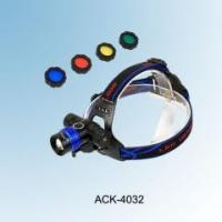 Buy cheap New Design! 2 In 1 4 Colors Light CREE XML T6 High Power Headlamp & 360 Rotary Bicycle Lamp ACK-4032 from wholesalers