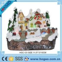 Wholesale OEM Lighted Christmas Village Water Fountain Christmas Decoration from china suppliers