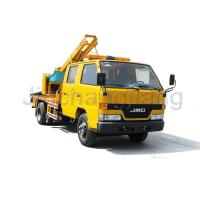 Wholesale Highway collision repair Highway Guardrail Post Pounder Truck from china suppliers