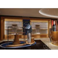 Buy cheap retail clothes store fixture,men clothing store display from wholesalers