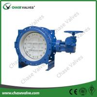 Buy cheap triple eccentric butterfly valve design Metal Seated Triple Offset Butterfly Valve from wholesalers