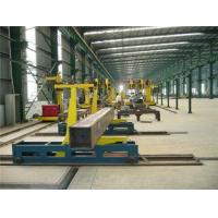 Buy cheap Stable Box Beam Welding Production Line , Electron Beam Weld from wholesalers