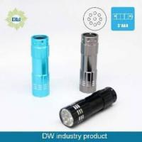 Buy cheap 9 LED Small Flashlight with Multi-Color from wholesalers