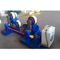 Buy cheap 5T - 60T Pipe Welding self - aligning Rotator with rubber rollers , tank turning rolls from wholesalers
