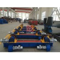 Buy cheap Adjustable Pipe Welding Rotator 10T Conventional PU / Metallic Roller from wholesalers