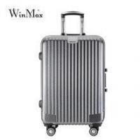 Buy cheap Black carbon fiber lightweight ABS trolley luggage from wholesalers