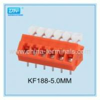 Buy cheap PCB Screwless Terminal Block and Connector 28-12 AWG 15A from wholesalers