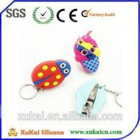 Eco-friendly silicone cartoon nail clipper Manufactures