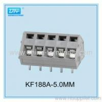 Buy cheap Screwless Terminal block - China PCB terminal block 300V 15A pitch 5.0/5.08MM from wholesalers