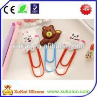 Buy cheap Cheap factory price 3d silicone bookmark from wholesalers