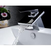 Buy cheap Bathroom taps stainless steel single handle faucet from wholesalers