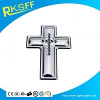 Wholesale Zinc Alloy Chrome Cross Logo from china suppliers
