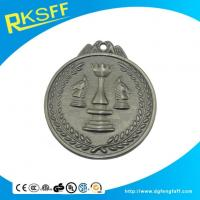 Wholesale Zinc Alloy Chess Silver Medals from china suppliers
