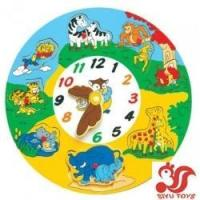 Puzzled Wooden Clock - Animals Wooden Toys Model No.: sy3010-1 Manufactures