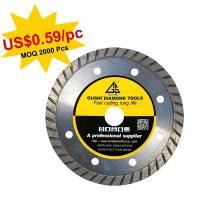 Buy cheap 110 x 7mm Sintered Diamond Turbo Blade from wholesalers