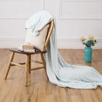 Buy cheap Light Blue Polyester-Cotton Blanket Blankets & Throws from wholesalers