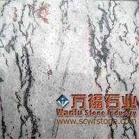 Wholesale red plum blossom gray marble from china suppliers