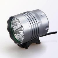 Rechargeable flashlight 4 Rechargeable Battery Powered Powerful Bike Light Manufactures