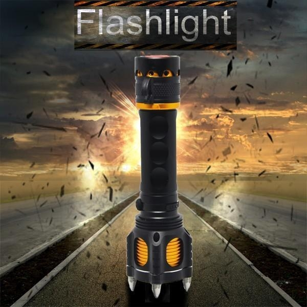 Quality Rechargeable flashlight Rechargeable led flashlight for sale