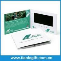 Advertising promotional product 7 inch tft lcd video brochure