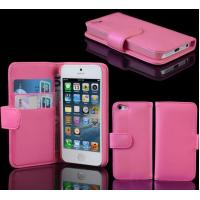 Buy cheap Leather Flip Folio Case Cover With Card Holder For iPhone 4 4S from wholesalers