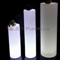 Wholesale Tall led cylinder/pillar light from china suppliers