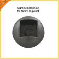 Buy cheap 31g, 16mm (5/8) metal aluminum fencing picket caps from wholesalers