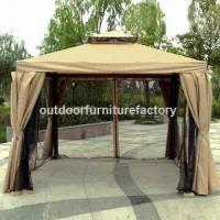 Buy cheap Deluxe Gazebo with Double Air-vents and Powder Coating from wholesalers